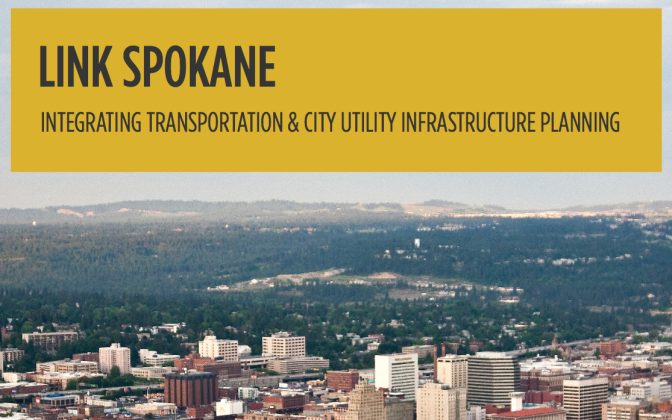 Photo of Cover of Link Spokane Booklet
