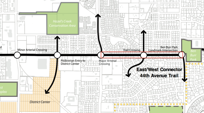44th Avenue Water Main and Trail Project