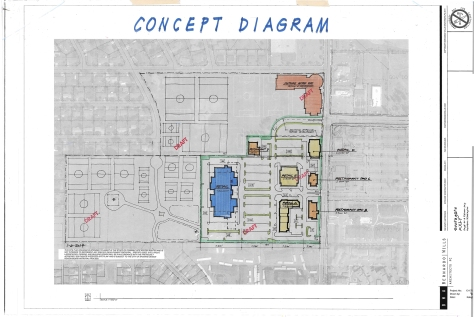 Image of the draft land swap proposed by KXLY to the Park Board in January 2014.