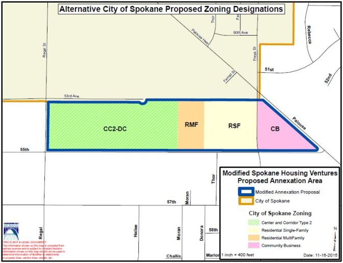 Outcome: Spokane Housing Ventures Annexation
