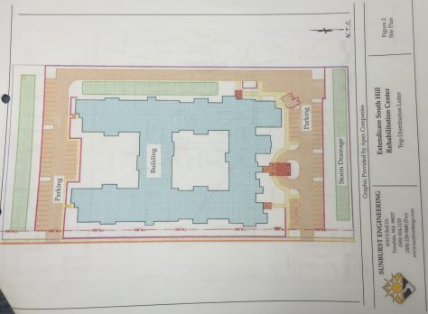 The proposed site plan from 2008.